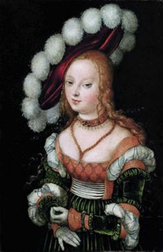 Lucas Cranach \ Dynasty painters of the early Renaissance Lucas Cranach the Elder (Germany, Lucas Cranach the Younger - Форум по искусству и инвестициям в искусство Mode Renaissance, Renaissance Artists, Renaissance Paintings, Renaissance Fashion, Renaissance Clothing, Historical Costume, Historical Clothing, Pierre Auguste Renoir, German Style