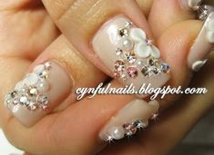 fingernail designs for weddings