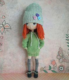 Elena's wall photos – 183 photos | VK Crochet Doll Pattern, Crochet Bunny, Crochet Art, Cute Crochet, Crochet Animals, Crochet Patterns, Yarn Dolls, Knitted Dolls, Crochet Dolls