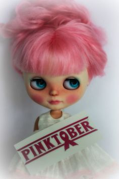 https://flic.kr/p/ptdAWV | Welcome to PINKTOBER! | October is Breast Cancer Awareness month, Hope will be doing her part throughout the month to bring awareness. She encourages you to check yourself. Early detection is the best protection there is!