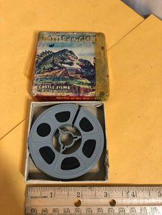 "Vintage Castle Films ""Battle of the Giant"" Super 8 Film Super 8 Film, 8mm Film, Film Reels, Battle, Make It Yourself, Watch, Box, Amazing, Vintage"