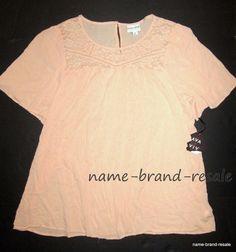 AVA & VIV NWT Womens PLUS 3X Pink PEASANT Top BOHO Gypsy HIPPIE Tunic Shirt NEW #AvaViv #Blouse #Casual