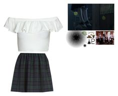 """""""Setsuna Meioh"""" by xoxkenzie ❤ liked on Polyvore featuring River Island, Wild & Wolf and The Giving Keys"""