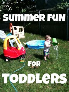 Summer Fun for Toddlers | Stir the Wonder