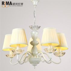cream fabric shade pendant lamp chandelier fancy light light fixtures luminaria hanging lamp for living room in factory price
