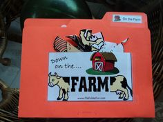 file folder activities for toddlers | ... Eaton and Nathaniel: File folder game-Matching activity: On The Farm