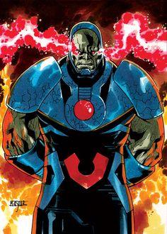 Darkseid by Mahmud Asar Dc Comics Characters, Dc Comics Art, Marvel Comics, Marvel Dc, Darkseid Dc, Superman, Batman, Univers Dc, New Gods