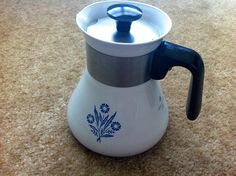 CorningWare Coffee Pot by javelinwarrior, via Flickr
