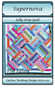 You have to see Supernova Quilt by Carly Westberg!