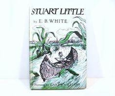 Stuart Little Classic Children's Book EB White Garth by autena, $7.00