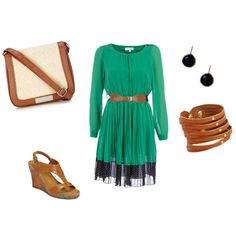 Summer Day Dress, created by jessbeis on Polyvore