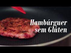 Hambúrguer de Feijão Branco e Beterraba - Presunto Vegetariano