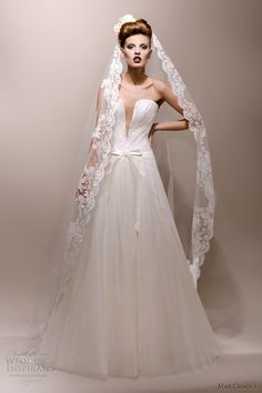 max chaoul wedding dresses 2013 decades vintage kirsten 1980s gown