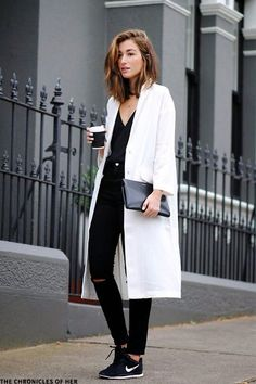 Winter White Coats