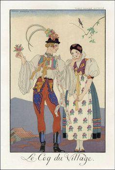 Paris, 1922–1926. Illustrator George Barbier.