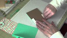 Stampin Up! - Mini Note Pad Holder with Pen