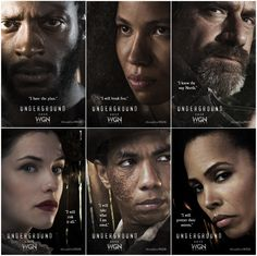 #Underground on WGN America to premiere early 2016 - Poster Images