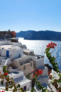 Oia Castle & Caldera, Santorini-- this is a direct shot of our balcony. :))) Will be here September 26 on our Honeymoon!!!!