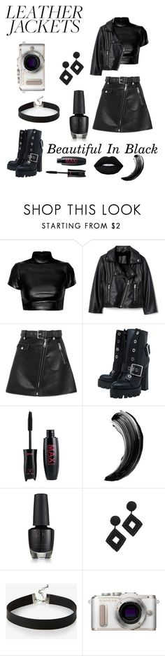 """""""Untitled #547"""" by earthelglowing ❤ liked on Polyvore featuring Maje, Alexander McQueen, Kenneth Jay Lane, Express and PL8"""
