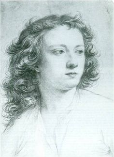 Fountaine, Andrew (1676-1753), red chalk on ivory laid paper by Carlo Maratta (1625-1713), 1702, 46.7 x 32.3 cm (Narford Hall)
