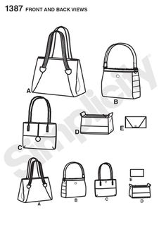 S1387 Bags in Assorted Sizes