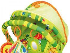 Cadeirinha Musical para Crianças até 11Kg - c/ Vibração Calmante - Dican Frutinhas Divertidas