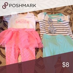2 outfits 3 month Matching Sets