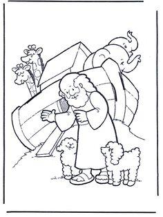 Dibujosdelabiblia   Dibujos.org / Dibujos de la Biblia / Antiguo Testamento / Noé 1