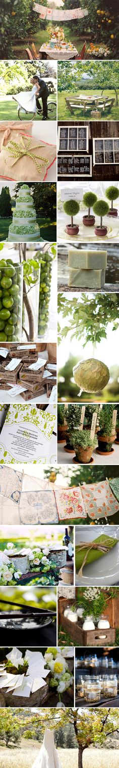 Carnet Inspiration : Mariage écolo chic