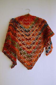 Rókalepke színű South Bay Shawlette
