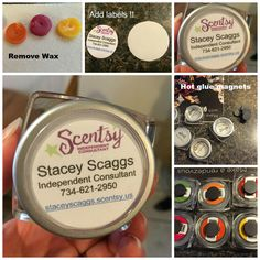 Scentsy Marketing Magnet