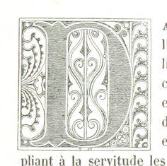 Letter D   Image taken from page 157 of 'La Russie ancienne et moderne, d'après les chroniques nationales, etc'