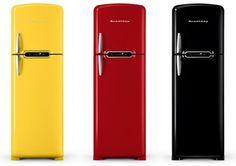 Brastemp: Aumenta a linha Retrô com fogão e refrigerador