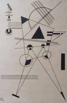 Wassily Kandinsky - Lithograph no. 1, 1925