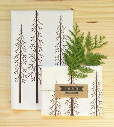 Trees Tea Towel - Pack of 3   Home Kitchen & Pantry   Bird Mafia   Scoutmob Shoppe   Product Detail