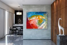 This item is unavailable Large Abstract Wall Art, Large Painting, Large Art, Bathroom Wall Art, Affordable Home Decor, Original Paintings, Abstract Paintings, Canvas Art, Artwork