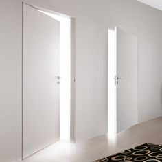 Exterior Doors, Interior And Exterior, Interior Design, Modern Wood Doors, Invisible Doors, Italian Doors, Flush Doors, Door Casing, Home Room Design