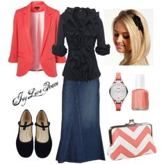 Blushing, created by audge999 on Polyvore