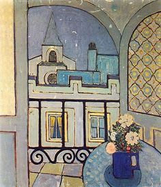Lam, Wilfredo (1902-1982) - 1936 The Window (Private Collection) by RasMarley, via Flickr