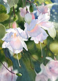 Dreaming of Spring – the Wonderful Watercolors of Marney Ward