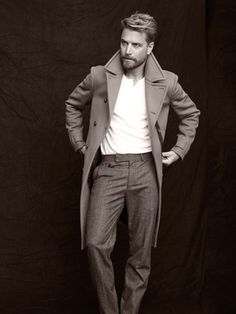 that jacket // topcoat, double-breasted, trousers, winter style