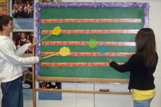 Swat the Staff - fun for learning the treble clef staff