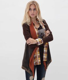 Gimmicks by BKE Pieced Cardigan - Women's Cardigans | Buckle.com