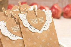 DIY Bridesmaid Gifts For Your Party.  Thank you bags for your wedding.
