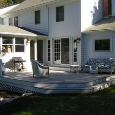 glass french doors to deck from kitchen / muddroom   Deck And Exterior French Doors by Ben Raphael