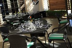 Our patio offers the perfect place to dine year round; our fire pit warms on winter nights or al fresco dining during warmer weather.