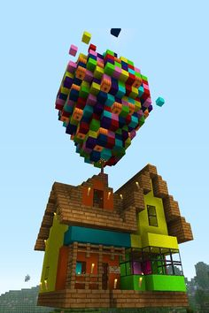It is for people who like minecraft and the movie up