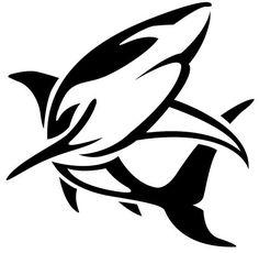 Big Shark Tattoo Design