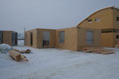 casa entramado ligero 104 m2 montaje Home