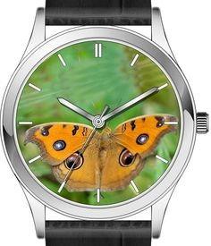Butterfly wrist watch series - Peacock Pansy butterfly